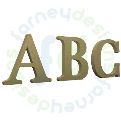 Cherokee 18mm Thick Wooden MDF Letters - Free Standing Option - Multiple Sizes