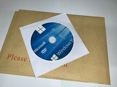Windows 10 HOME 64 bit Boot Disc DVD Re-Install Restore Repair Recovery