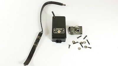 Singer Sewing Machine motor controller and knee lever bar , WORKING