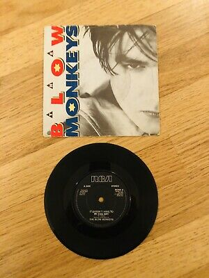 The Blow Monkeys - It Doesnt Have To Be This Way Rare 7 Inch Record 1986