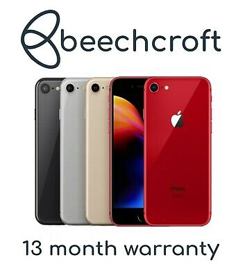 Apple iPhone 8 - 64GB/256GB - All Colours - UNLOCKED - Various Grades Pristine