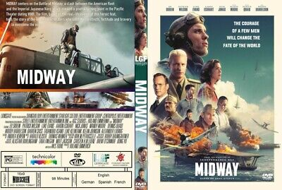 Midway(2019) DVD FAST SHIPPING!! READ DESCRIPTION