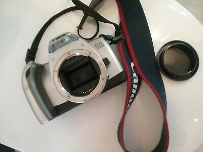 Canon EOS 300V camera with strap