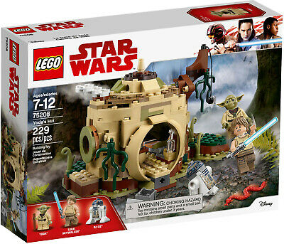 Lego Star Wars 75208 Yoda's Hut New And Sealed RETIRED