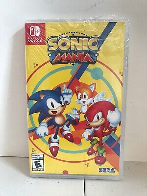 Sonic Mania Nintendo Switch Video Game