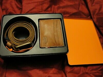 Superdry Set - Belt And Card Holder