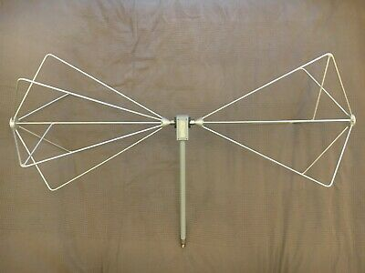 Emco 3110B / HP 11966C  Biconical Antenna 30 MHz to 300 MHz