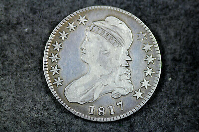 Estate  Find 1817  Capped Bust Half Dollar  #D21496