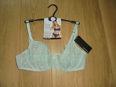 Marks & Spencer Rosie For Autograph Mint Non Padded Balcony Bra Size 36B