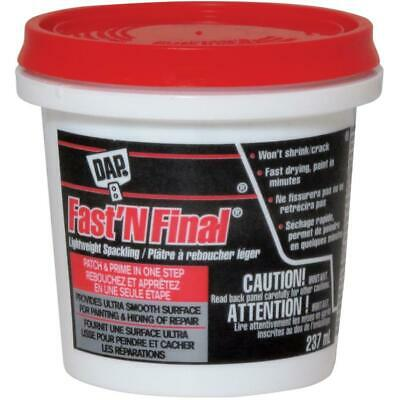 237mL Fast'n Final Off White Lightweight Spackling Wall Compound