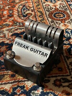 Freak Guitar Pedal. Matias Eklundh With PSU
