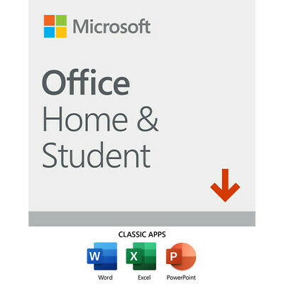 Microsoft Office Home and Student  2019 (1) User License Key for PC/Windows
