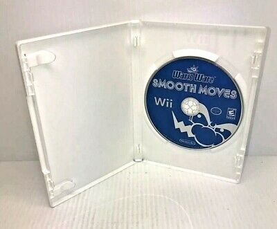 Nintendo Wii Wario Ware Smooth Moves game Disc Only No Art VG Free Shipping