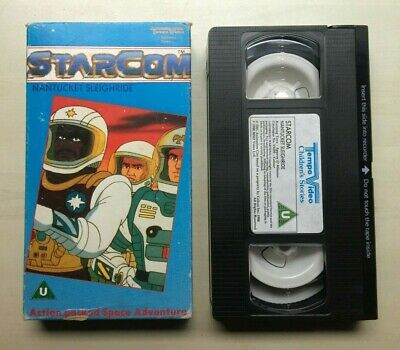 Starcom - Nantucket Sleighride - Vhs Video