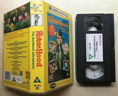 Robin Hood - The Boyhood Adventures - Vhs Video