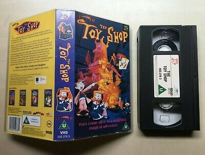 The Toy Shop - Vhs Video