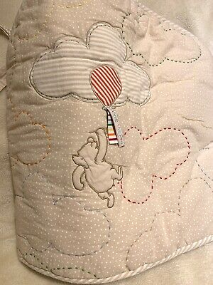 Mothercare Globe Trotter 4 Piece Bed In A Bag Boys Coverlet Bumper Fleece Blanke
