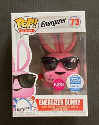 Funko Pop AD Icons Energizer Bunny Flocked - Funko Shop Exclusive