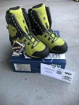 Haix Protector Ultra, Gore-Tex, Steel Toe, Waterproof, Chainsaw Protection.