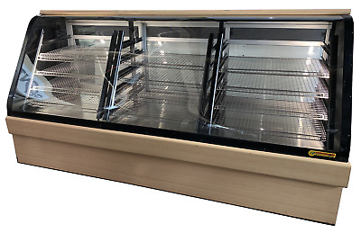 Display Case Package, Fluorescent lighting, sliding rear glass doors