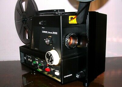 CHINON SOUND 6100 Super 8 Movie PROJECTOR in Box ~ SERVICED~
