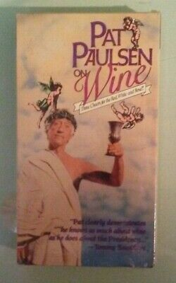Pat Paulsen On Wine      Vhs Videotape