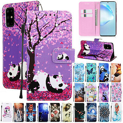 For Samsung Note10 Plus S9 S8 S10 Luxury Magnetic Leather Flip Wallet Case Cover