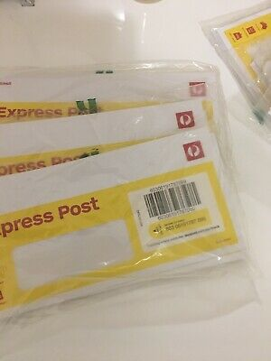 10 Pack Small express post envelope