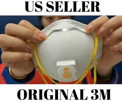 3M 8511 N95 Flu Protection Respirator (1) Mask. SHIPS FAST! CDC approved