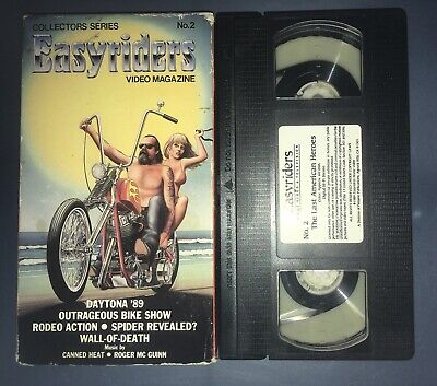 Easyriders Video Magazine - V. 2 (VHS, 1994) Motorcycle