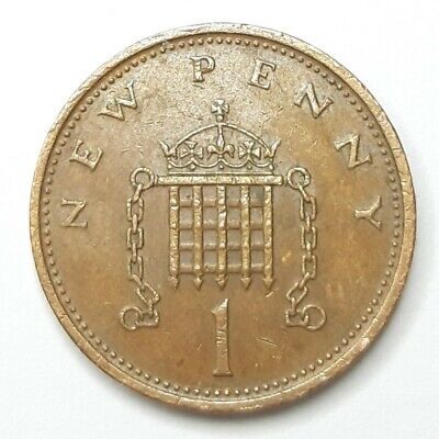 1971 1p New Penny Coin Original Old Coin
