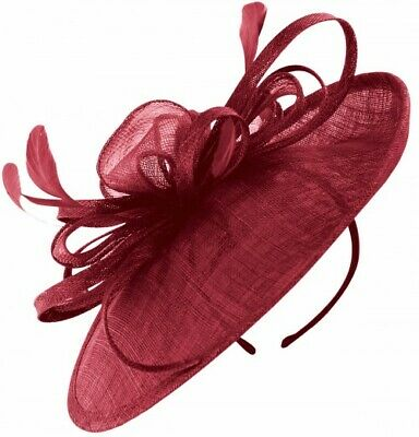 Failsworth Millinery Loops and Feathers Disc Headpiece