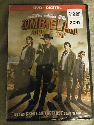 Zombieland: Double Tap (DVD,2019)NEW