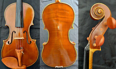 FINE 4/4 ANTIQUE OLD VIOLIN lab.: CHARLES le LYONNAIS,TELLER Fiddle 小提琴 ヴァイオリン
