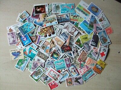 C/WEALTH SELECTION 150 STAMPS - ALL DIFFERENT MOSTLY USED. NO GB - VALS to $5