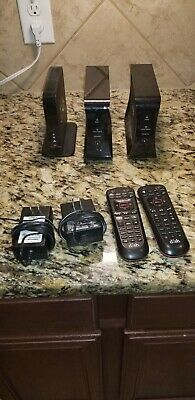 2 Dish Network Wireless Joeys & Access Point  - 2 Remote & 2 Power Cords