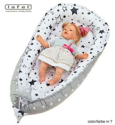 Baby-nest-cocoon-cushion-bed-reversible-HIGH-QUALITY Lafel Poland