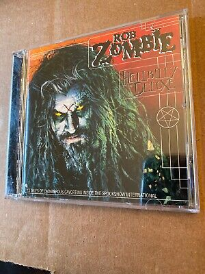 Rob Zombie Hellbilly Deluxe CD Canada Label - Ships Fast