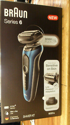 Braun Series 6 Shaver Kit 6020S Rechargeable Senso Flex (AX)