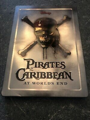 Pirates of the Caribbean - At Worlds End Steelbook DVD Disney M1573 Johnny Depp