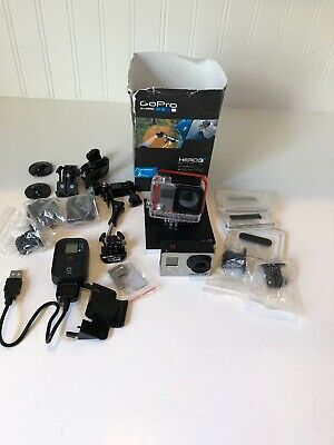 GoPro 3+ and accessories, hardly used, some items still in packaging