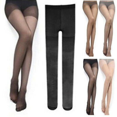 Femmes Untra-Thin Collants Bas Collants Collant Pur Long Culotte 4Colour