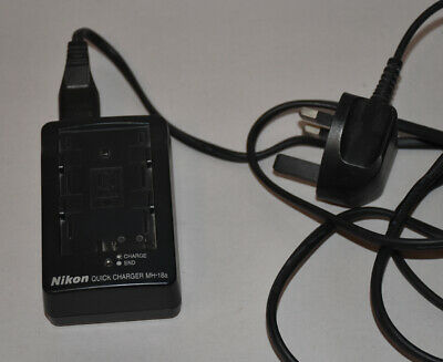 Genuine Nikon MH18a battery charger