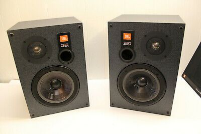 """JBL 4408a Studio Monitor Speakers 8"""" large bookshel stand mount perfect sound !"""
