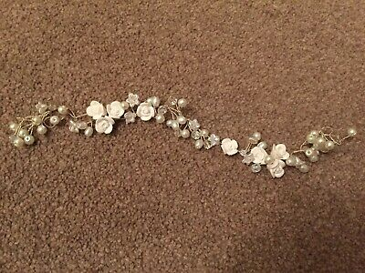 Wedding Hair Vine Pearl Effect And Beads Easy To Use In A Variety Of Styles