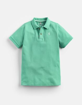 Joules Boys Whitby Blue Woody Polo Shirt