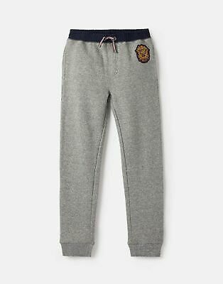 Joules Boys Ruck Rugby Jogger  - GREY MARL Size 3yr