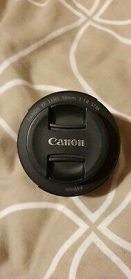 Canon EF 50mm F1.8 STM Lens - Black