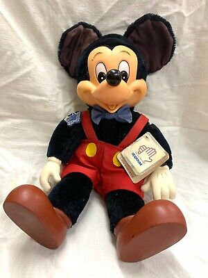 1981 Mickey Mouse Plush Toy By Applause