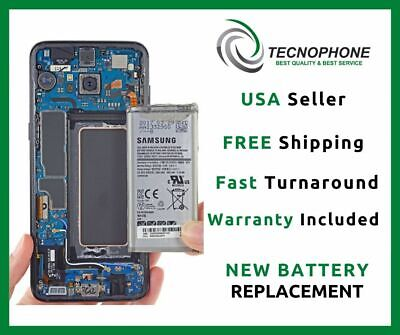 Samsung Galaxy S8 Plus Battery Replacement Repair Service (Fast, Free Return)
